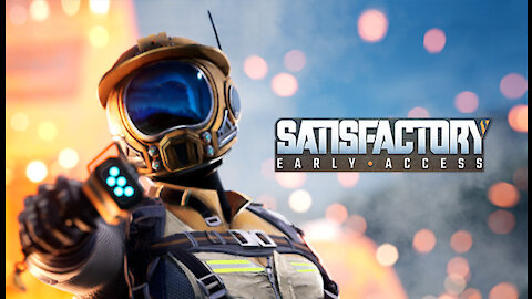 Satisfactory Early Access Game play EP 03 with mods
