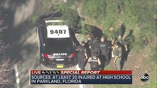 Suspect taken into custody in school shooting near Miami, Florida - Video