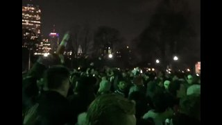 Thousands Gather on Boston Common to Celebrate Patriots' Super Bowl Win Over Rams