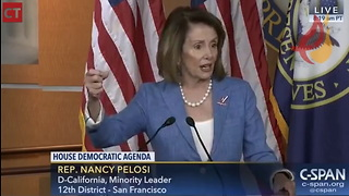 Pelosi Explains How To Run a Successful Smear Campaign 1 Year Before Kavanaugh