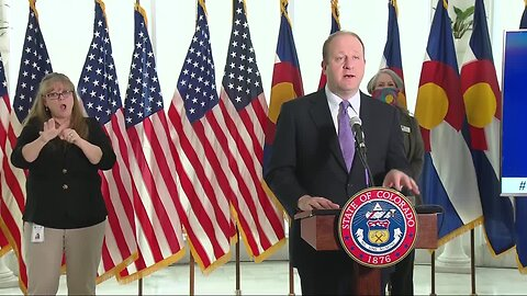 Gov. Jared Polis provides update on COVID-19 in Colorado
