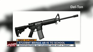 AR-15 rifle, ammunition found on high school campus in Pasco County - Video