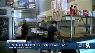 A restaurant expands to beat COVID cutbacks