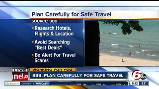 BBB: Plan Carefully for Safe Spring Break Travel - Video