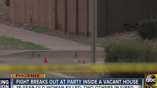 Street reopens after deadly shooting at vacant Phoenix house - Video