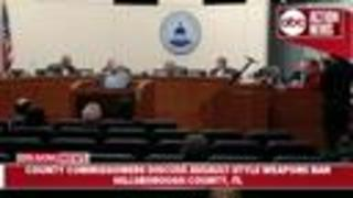 Hillsborough Commissioners vote to extend waiting period to purchase firearms from 3 to 5 days - Video