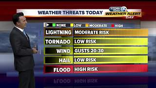 Weather Alert Day 1 p.m. updated - Video