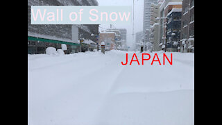 Wall of Snow-Beautiful & Interesting Places