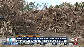 Second round of Hurricane Irma debris clean-up - Video
