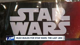 Fans excited for new Star Wars movie - Video