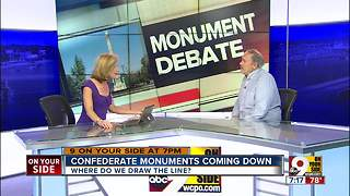 Confederate monuments coming down - Video