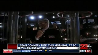 Sean Connery dies at age 90
