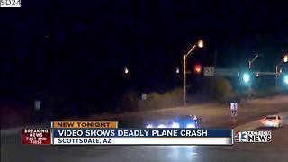 Video shows plane crash in Scottsdale