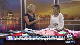 Consignment shopping: Snag deals for back to school clothes - Video