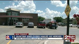 QT employees hailed as heroes - Video