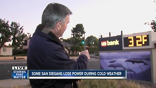 Power outage leaves many without heat amid cold weather