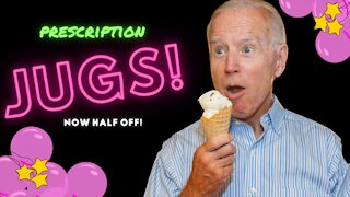 JOE BIDEN GAFFES in Michigan speech and says: 'Prescription JUGS' instead of 'DRUGS'!