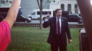California's Garamendi Rallies Healthcare Protesters at US Capitol - Video