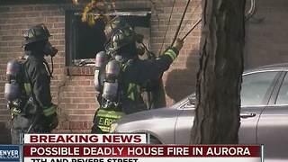1 dead, several homes damaged in Aurora fire - Video