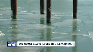 US Coast Guard issues thin ice warning