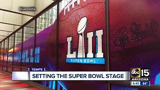Valley company providing signage for Super Bowl LII - Video