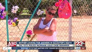 Mother looking for answers in California City murder cold case
