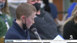 Boone County student fights for snow days