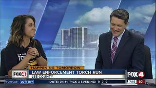 LCSO law enforcement torch run - Video