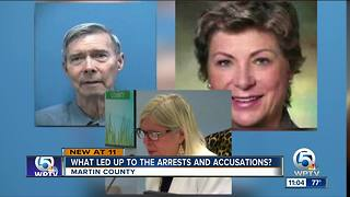 Martin County Commissioners and former commissioner: What led to the arrests and accusations? - Video