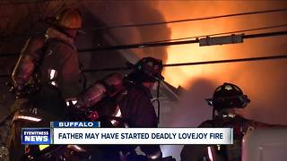Source: Father may have started fire that killed 7 year-old - Video