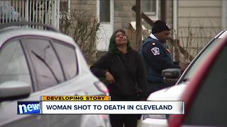 Woman shot to death on Cleveland's west side