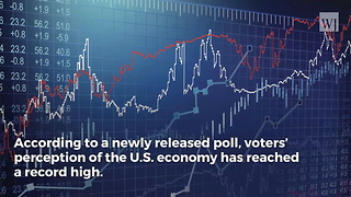 US Economy Under Trump Sets Record in New US Voter Poll - Video