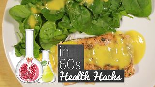 How To Health Hacks: Salmon with peach - Video