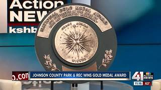 Johnson County Parks & Rec receives National Gold Medal - Video