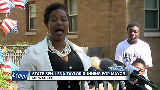 State Sen. Lena Taylor is running for mayor