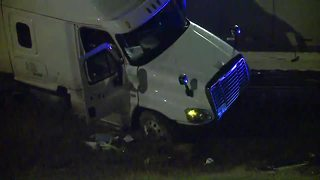 Update: Hydroplaning cause of semi accident - Video