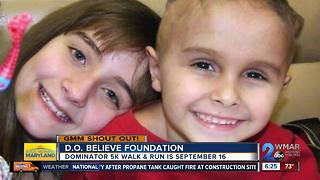 Good morning from the D.O. Believe Foundation! - Video