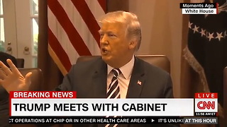 Trump Has Fun With Nobel Prize: Everyone Thinks I Deserve It, But I'd Never Say That - Video