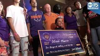 Phoenix Suns surprise underprivileged kids with $10,000 check - ABC15 Digital - Video