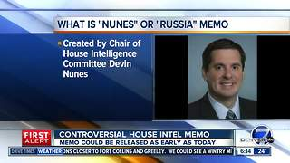 Russia Memo to be released