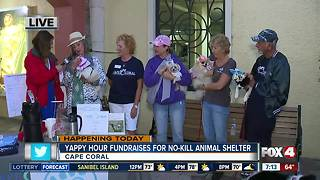 Yappy hours fundraises for first no-kill animal shelter in Cape Coral - Video