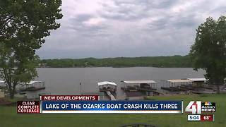 Three JoCo residents killed in Ozarks boat crash - Video