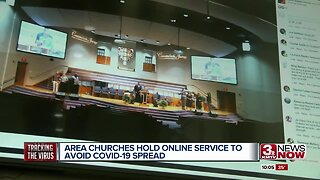 Area churches hold online service to avoid possible spread of coronavirus