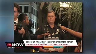 Lakeland Police Sgt. in Oscar nominated movie - Video
