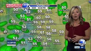 Wet day expected as cold temperatures hang over Colorado - Video