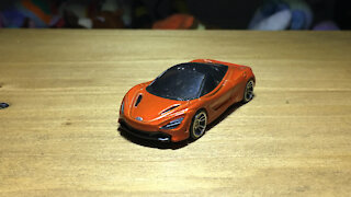 Awesome Hot Wheels Car McLaren 720S (2018 Mainline Livery)