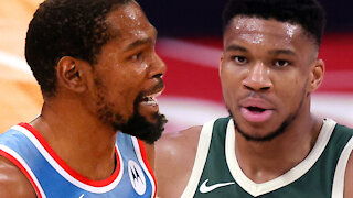 Giannis Antetokounmpo Gives His Honest Opinion On Kevin Durant-James Harden Nets Superteam