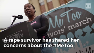 Rape Survivor Tells What's Wrong With #MeToo - Video