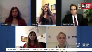 Safely back to school: Virtual rountable with high school students