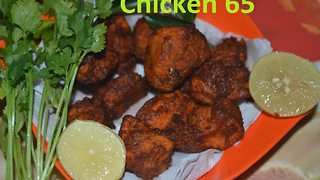 INDIAN FOOD - Chicken 65 Easy and tasty kitchen Idea - Video